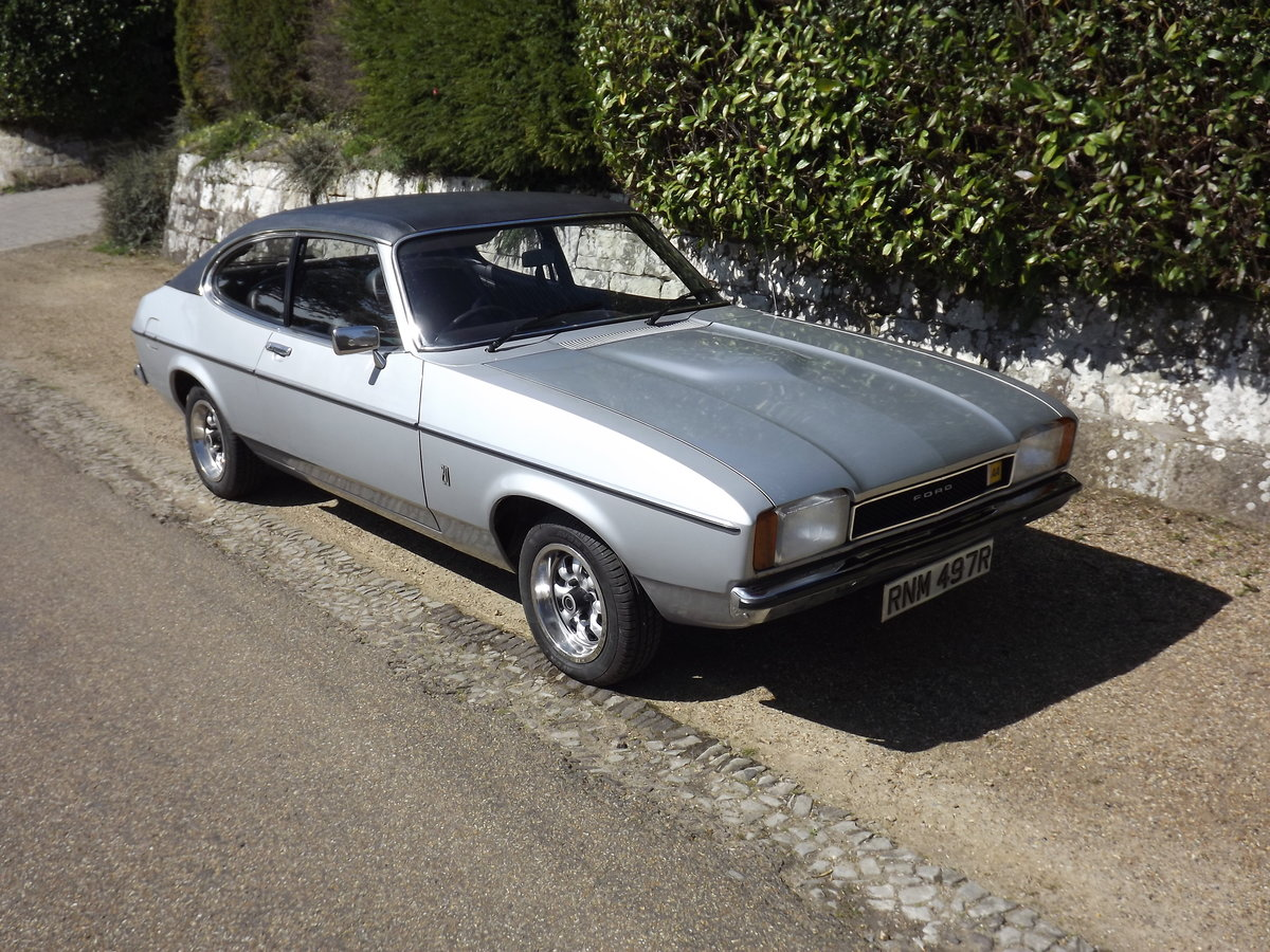 Ford Capri 1976, 2.0GL - 12,800 miles For Sale (picture 6 of 6)