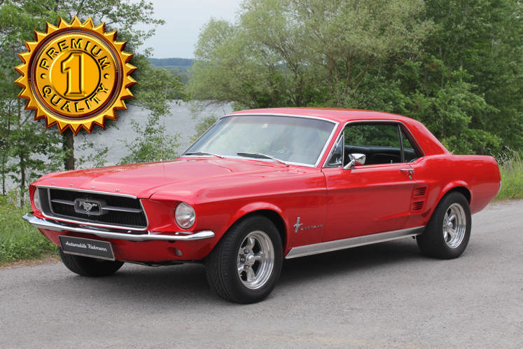 Ford Mustang GT 1967 357 cu. in. 400 hp For Sale (picture 1 of 6)