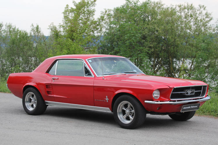 Ford Mustang GT 1967 357 cu. in. 400 hp For Sale (picture 2 of 6)