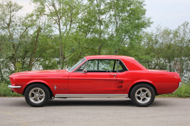 Ford Mustang GT 1967 357 cu. in. 400 hp For Sale (picture 4 of 6)