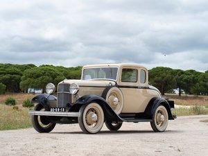 1932 Ford Model 18 V-8 Coup