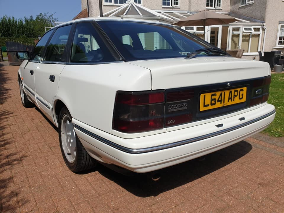 1993 Ford Granada Cosworth 35k From New For Sale (picture 3 of 6)