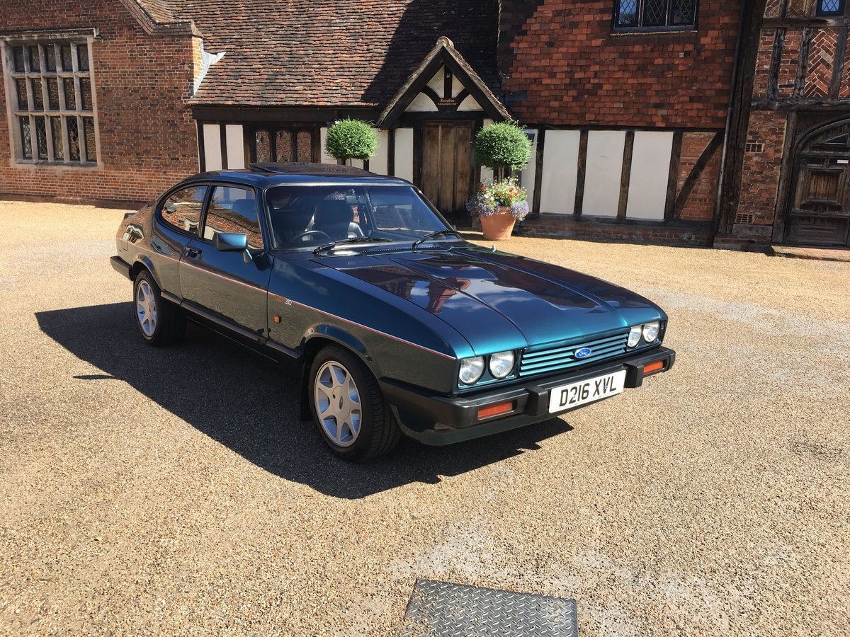 Ford capri 280 brooklands/ TURBO TECHNICS 1987 For Sale (picture 1 of 6)