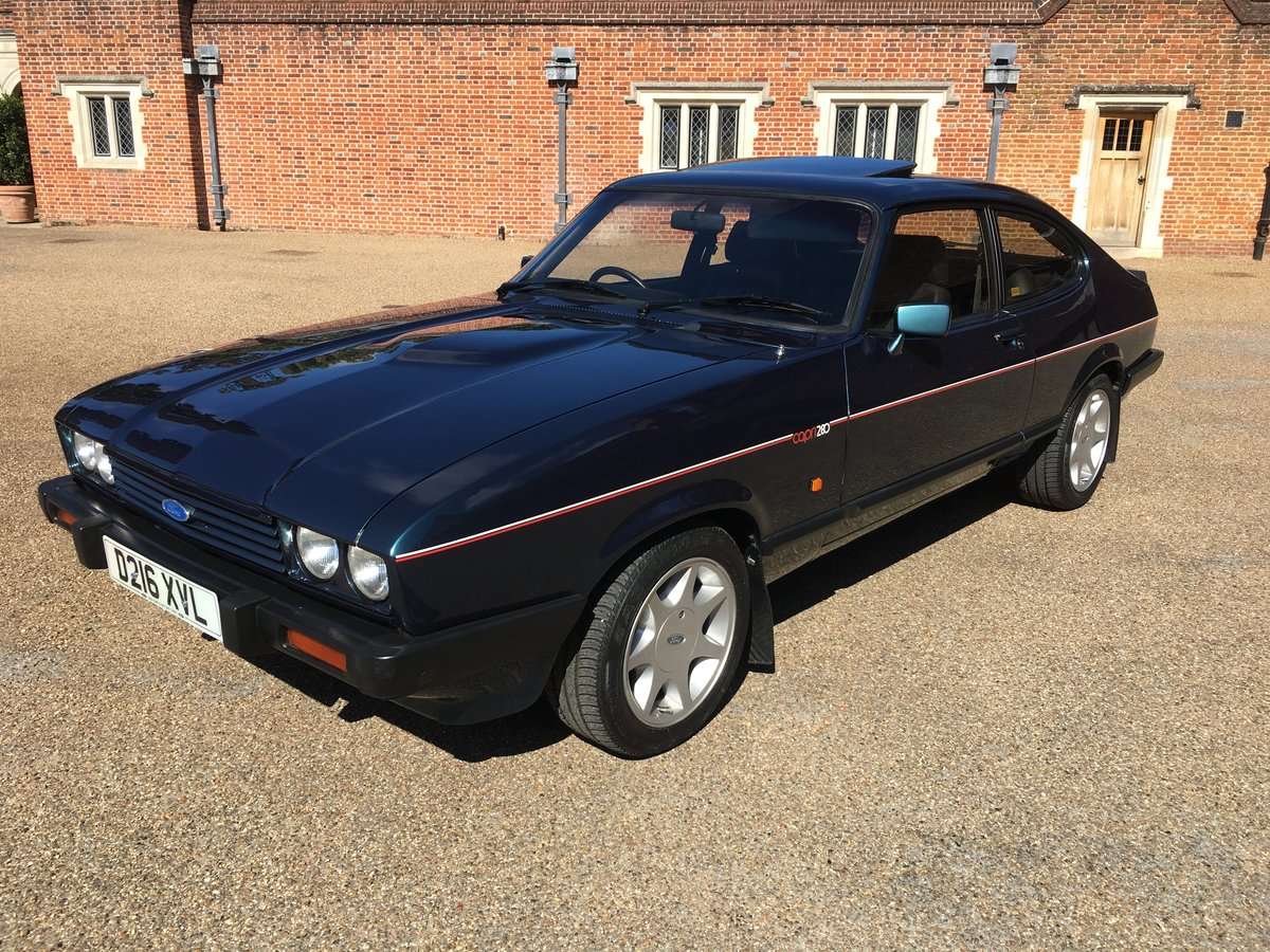 Ford capri 280 brooklands/ TURBO TECHNICS 1987 For Sale (picture 2 of 6)