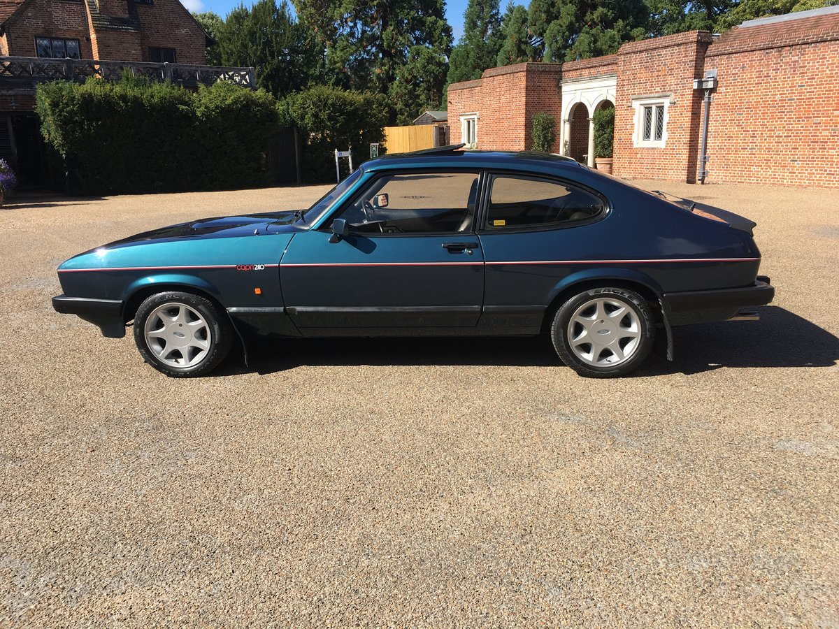 Ford capri 280 brooklands/ TURBO TECHNICS 1987 For Sale (picture 4 of 6)