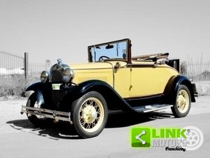 Ford Model A Roadster (1931) TARGA ORO For Sale