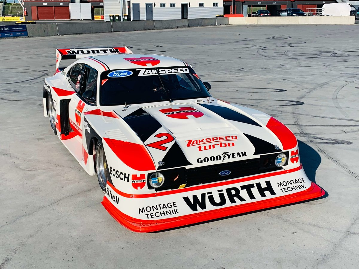 1981 Ford Capri Zakspeed Turbo For Sale (picture 1 of 5)