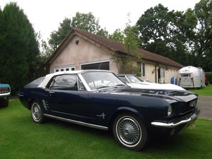 1966 Mustang Convertible Straight 6, Automatic, Light restoration For Sale