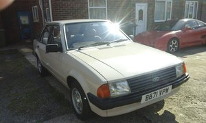 1985 ford escort mk3 1.6gl For Sale