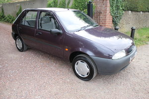 1996 Stunning Fiesta MkIV 1.3 EFi LX 5 Door With A Mere 11k Miles For Sale