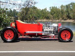 1913 Road Roadster All Custom Mods Rare 1 Off Red $21.5k For Sale