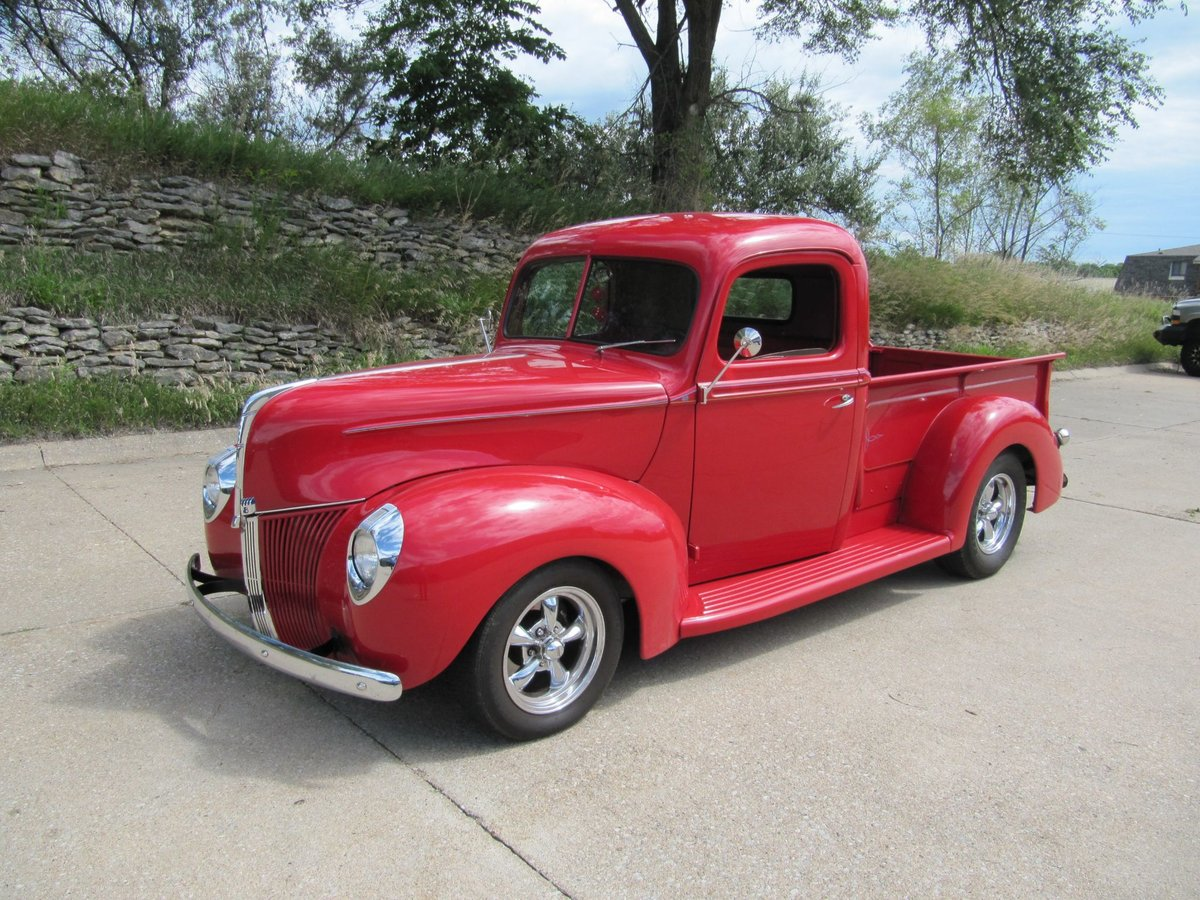 1940 Ford Pickup Resto Mod For Sale (picture 1 of 6)