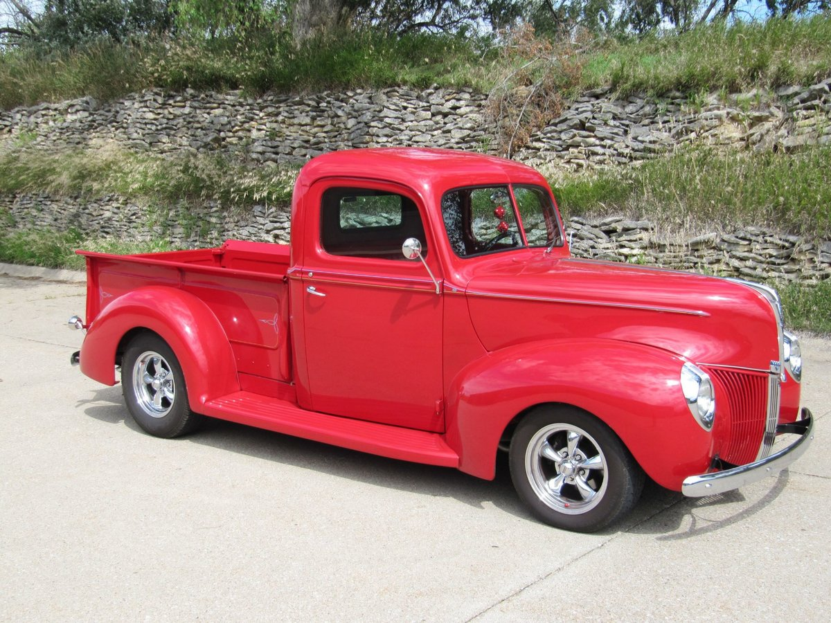 1940 Ford Pickup Resto Mod For Sale (picture 2 of 6)