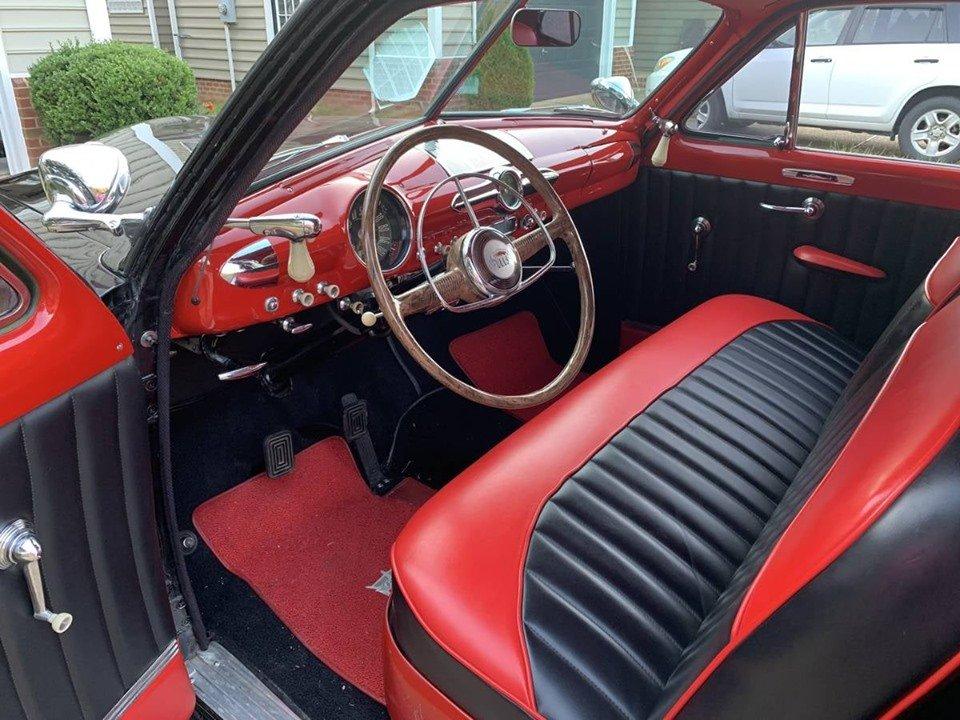1950 FORD CUSTOM DELUXE tudor sedan (Williamsburg, VA) For Sale (picture 3 of 5)