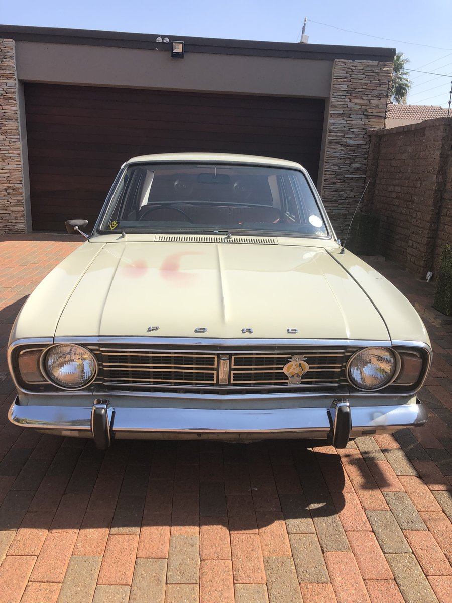1970 Ford Cortina MK 2 1600 DELUXE For Sale (picture 3 of 6)