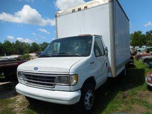 1992 Ford Econoline E350 BOX Van Gas Work Van Shelves $4.5k