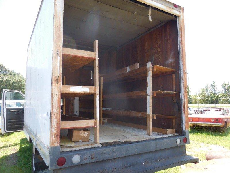 1992 Ford Econoline E350 BOX Van Gas Work Van Shelves $4.5k For Sale (picture 4 of 6)