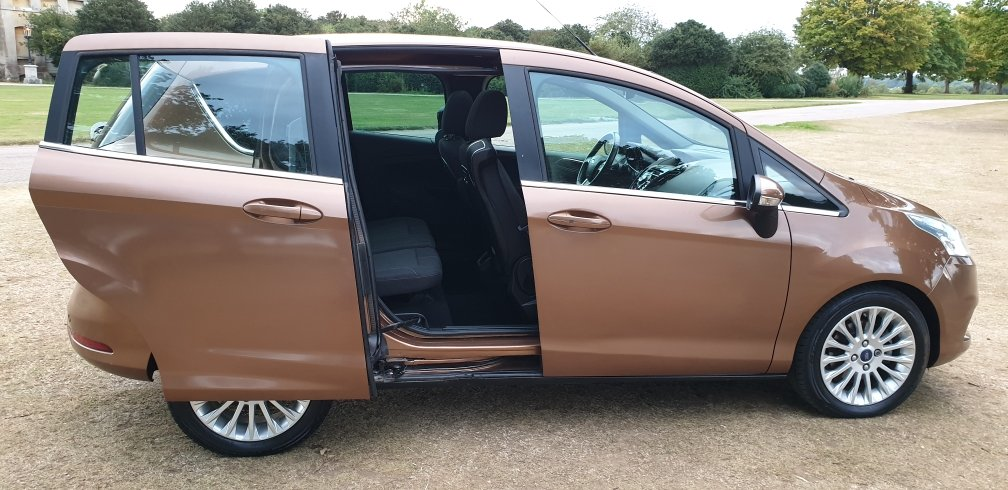 LHD 2012 Ford B-Max 1.6TDCi ( 95ps ) LEFT HAND DRIVE  For Sale (picture 2 of 6)