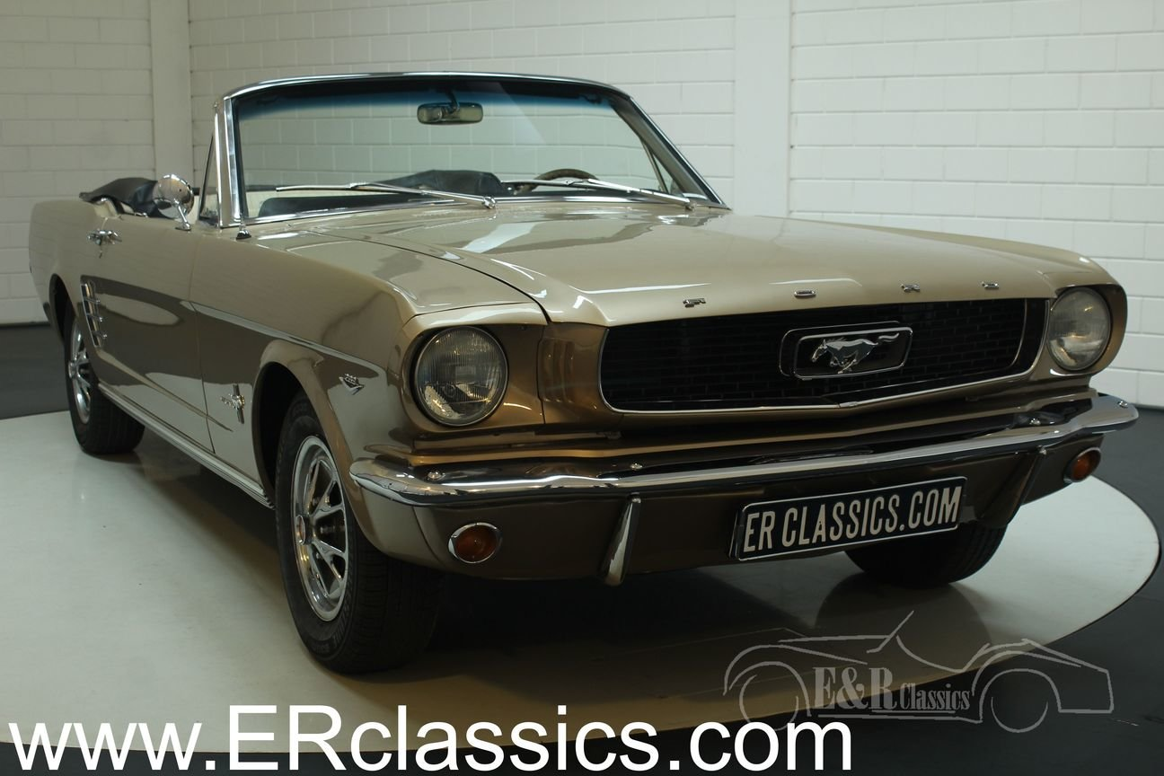 Ford Mustang convertible 1966 V8 restored For Sale (picture 1 of 6)