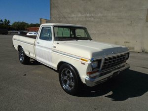 FORD F250 RANGER 400 6.6 V8 2WD LWB PICKUP(1978)RUSTFREE  For Sale