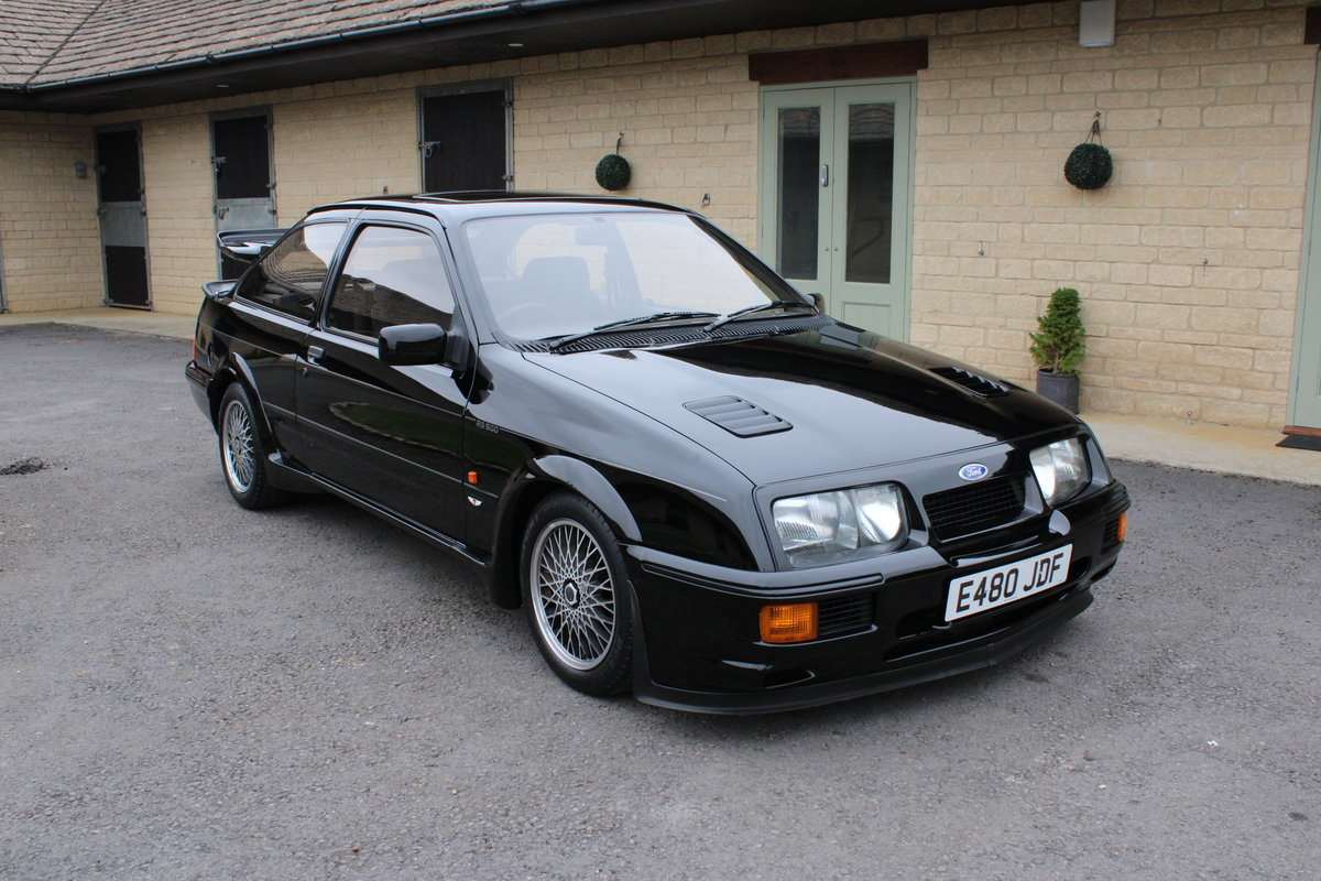 1987 FORD COSWORTH RS500 - 42,000 MILES - £85,950 For Sale (picture 1 of 24)