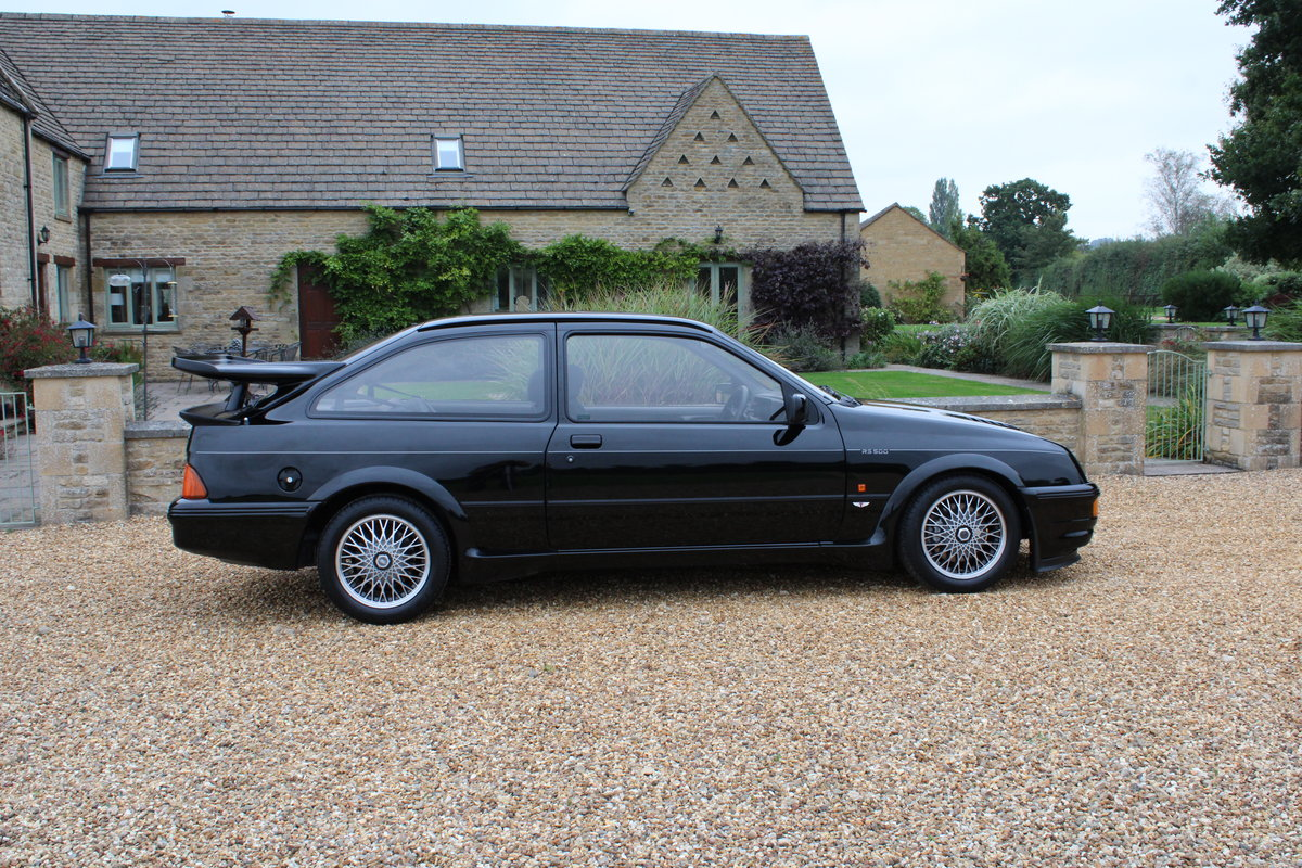 1987 FORD COSWORTH RS500 - 42,000 MILES - £85,950 For Sale (picture 3 of 24)