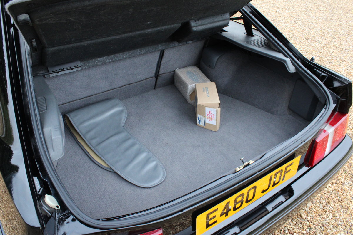 1987 FORD COSWORTH RS500 - 42,000 MILES - £85,950 For Sale (picture 16 of 24)
