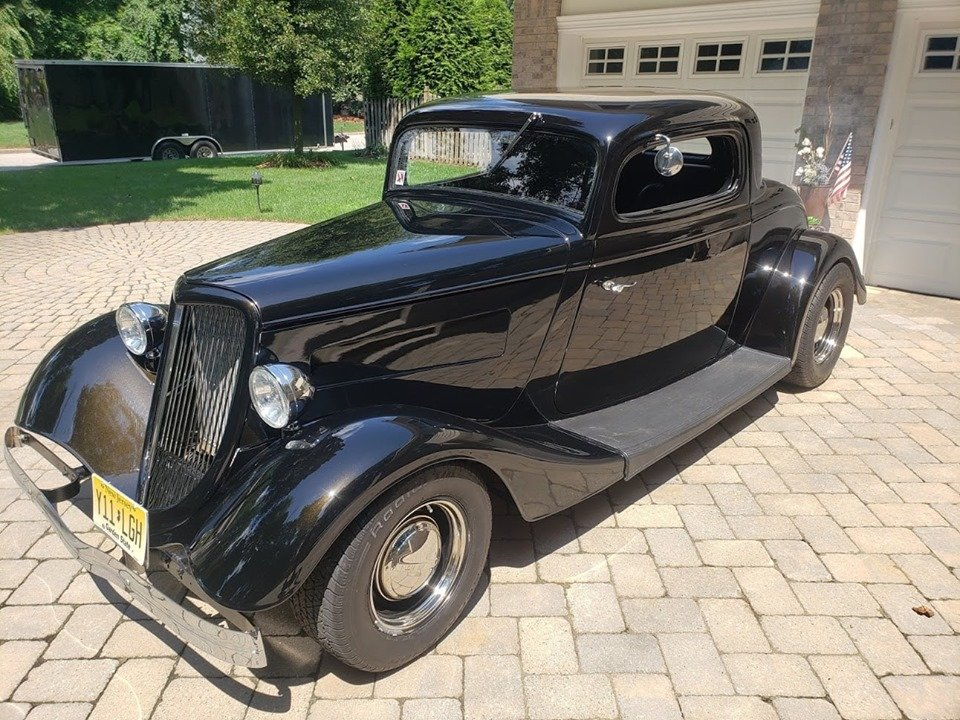 1934 Ford 3 Window Coupe (Park Ridge, NJ) $36,500 obo For Sale (picture 1 of 6)