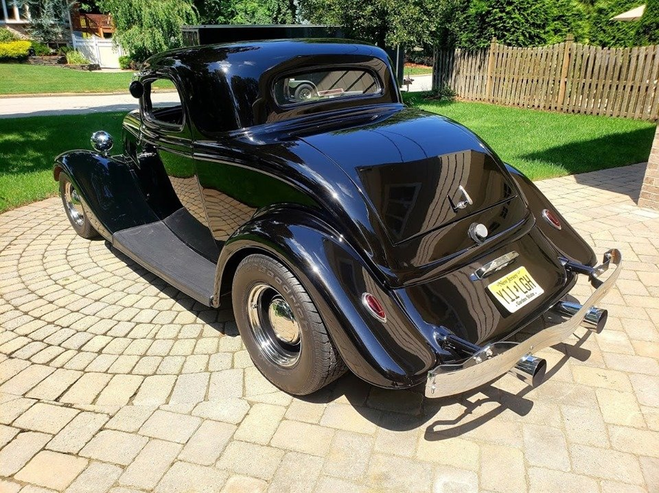 1934 Ford 3 Window Coupe (Park Ridge, NJ) $36,500 obo For Sale (picture 3 of 6)