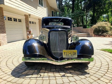 1934 Ford 3 Window Coupe (Park Ridge, NJ) $36,500 obo For Sale (picture 5 of 6)