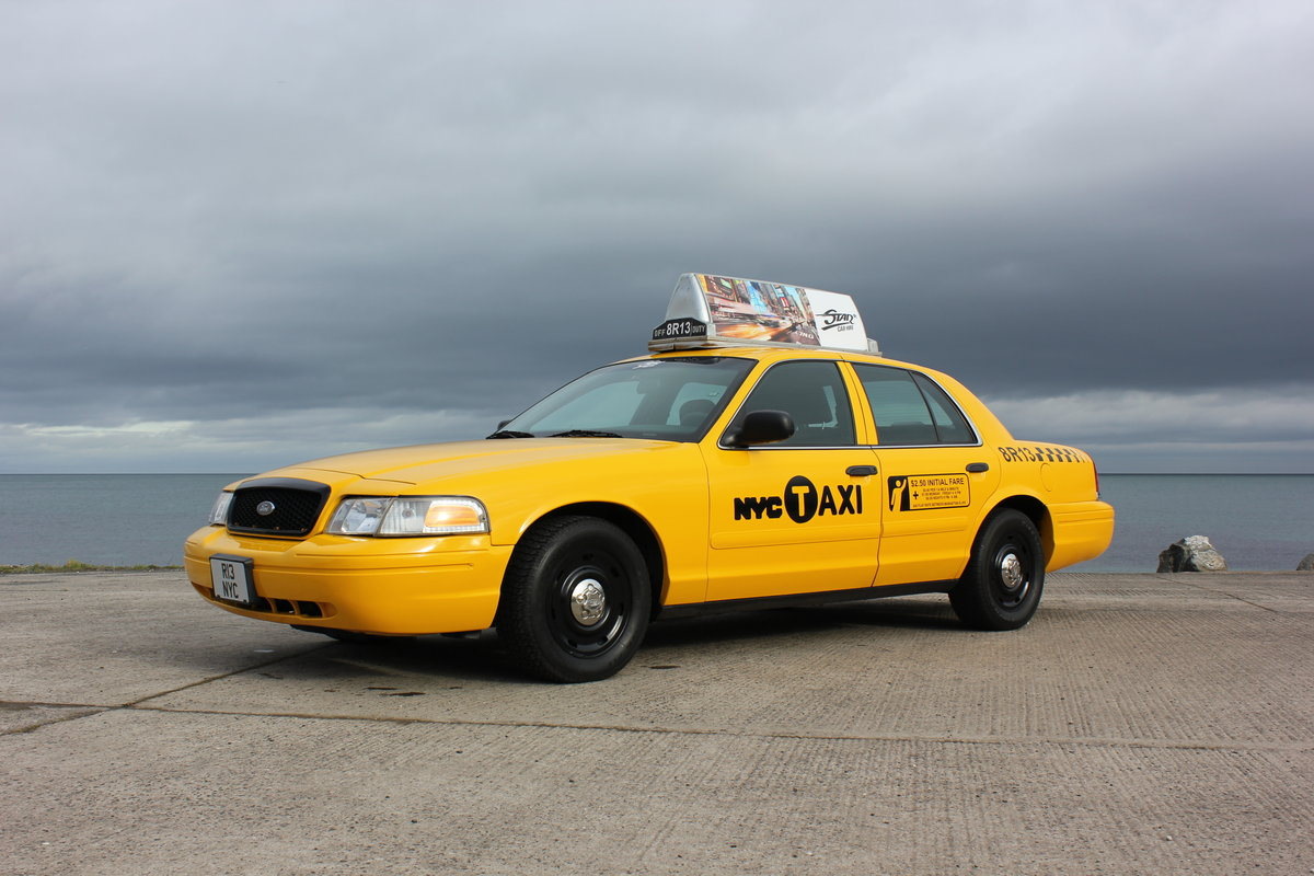 2003 P71 Ford Crown Victoria Yellow New York Taxi V8 For Sale (picture 6 of 6)