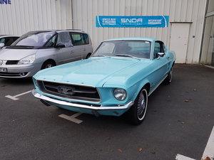1967 Mustang Fastback C code
