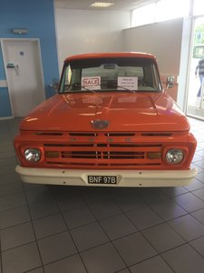 1964 Ford F100 Pick Up Mustang Engine and Box