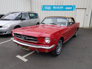 1965 Ford Mustang Convertible C code