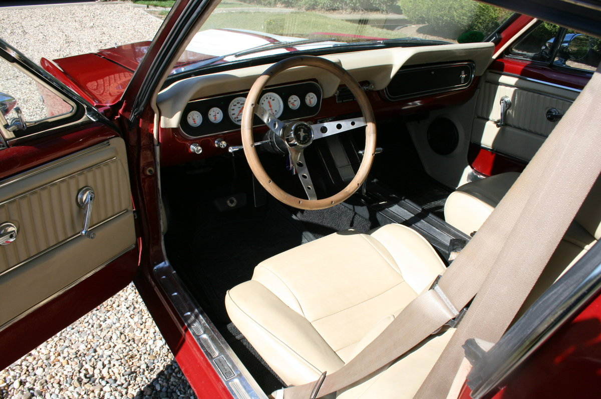 1966 Ford Mustang Fastback 289 V8 GT350 Evocation  For Sale (picture 2 of 6)