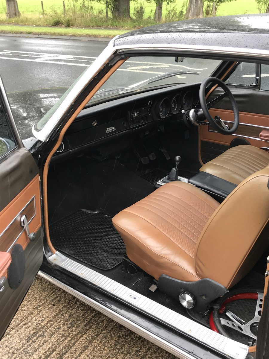 1969 Ford Taunus 2500s coupe For Sale (picture 5 of 6)