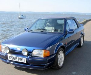 1990 Ford Escort XR3i SE500 Cabriolet For Sale by Auction