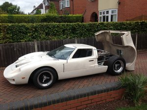 0000 FORD GT40  KVA MK1 unfinished project