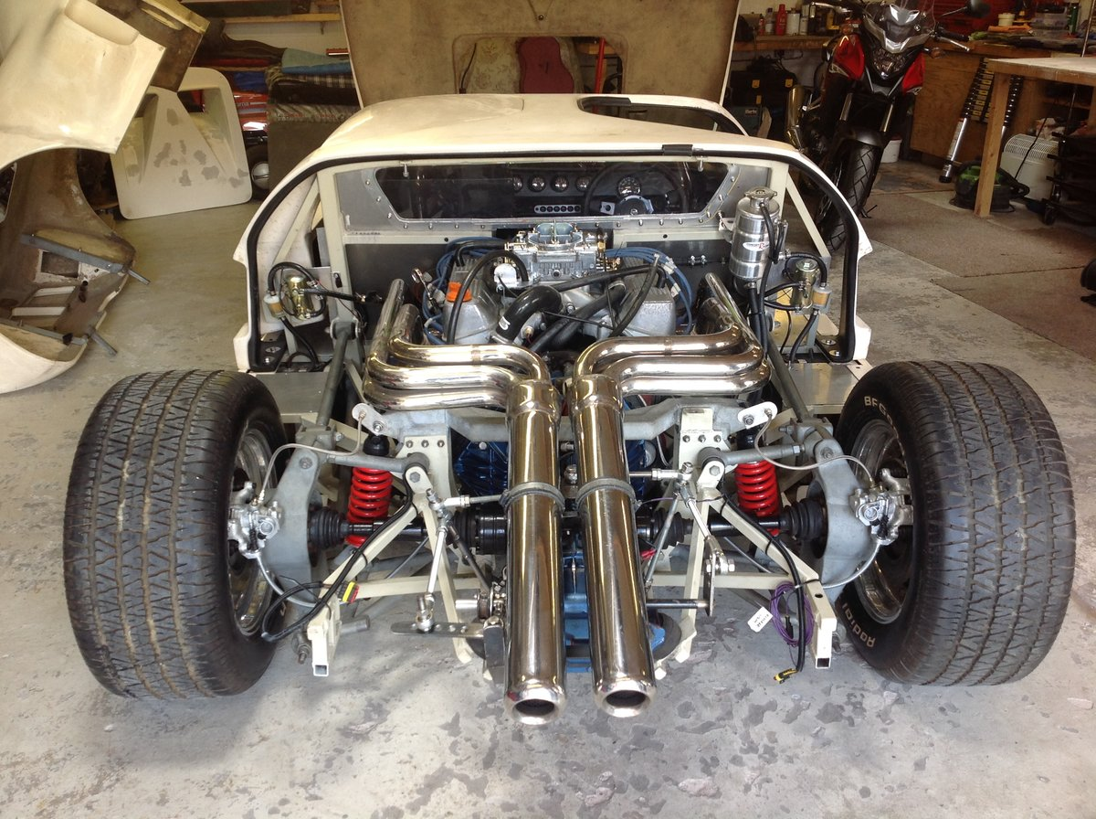 0000 FORD GT40  KVA MK1 unfinished project For Sale (picture 2 of 6)