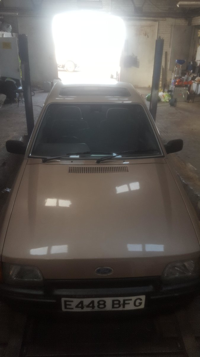 1987 ford escort ghia 1.6 For Sale (picture 1 of 6)