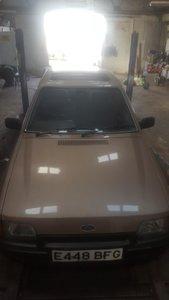 1987 ford escort ghia 1.6