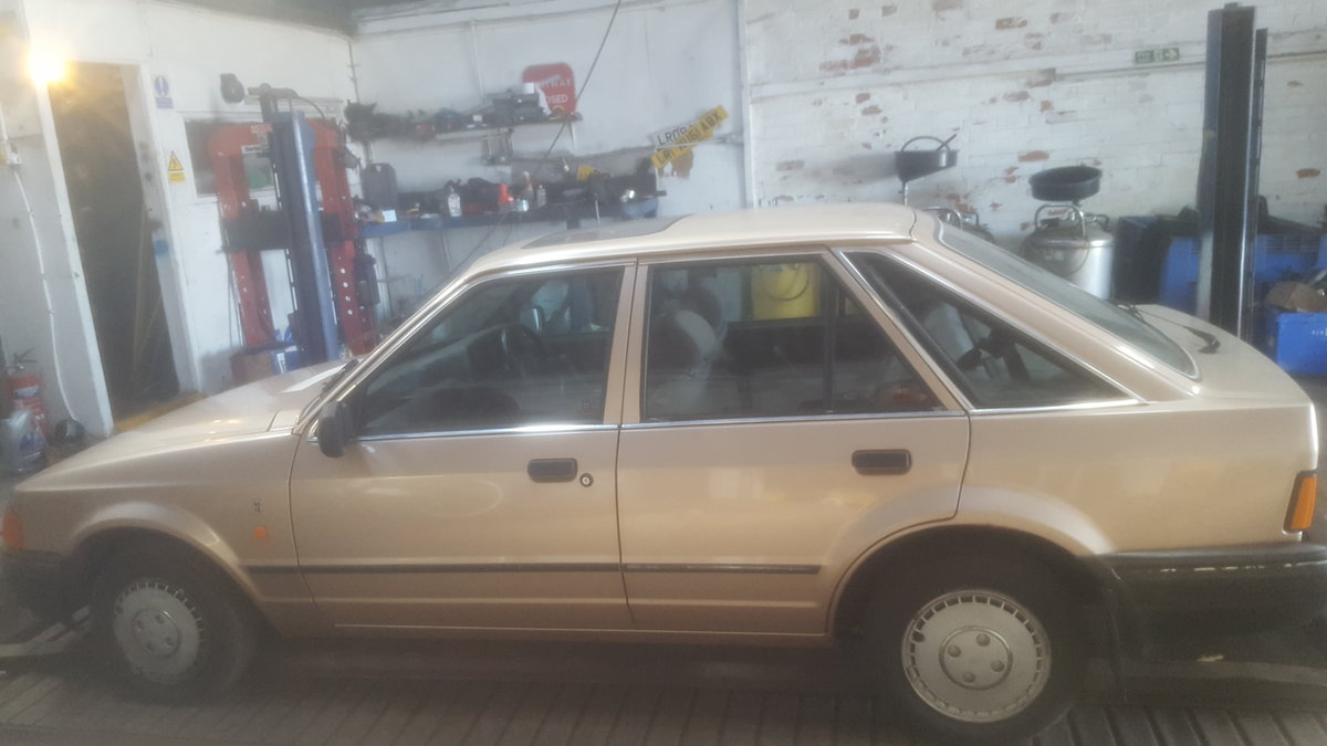 1987 ford escort ghia 1.6 For Sale (picture 2 of 6)