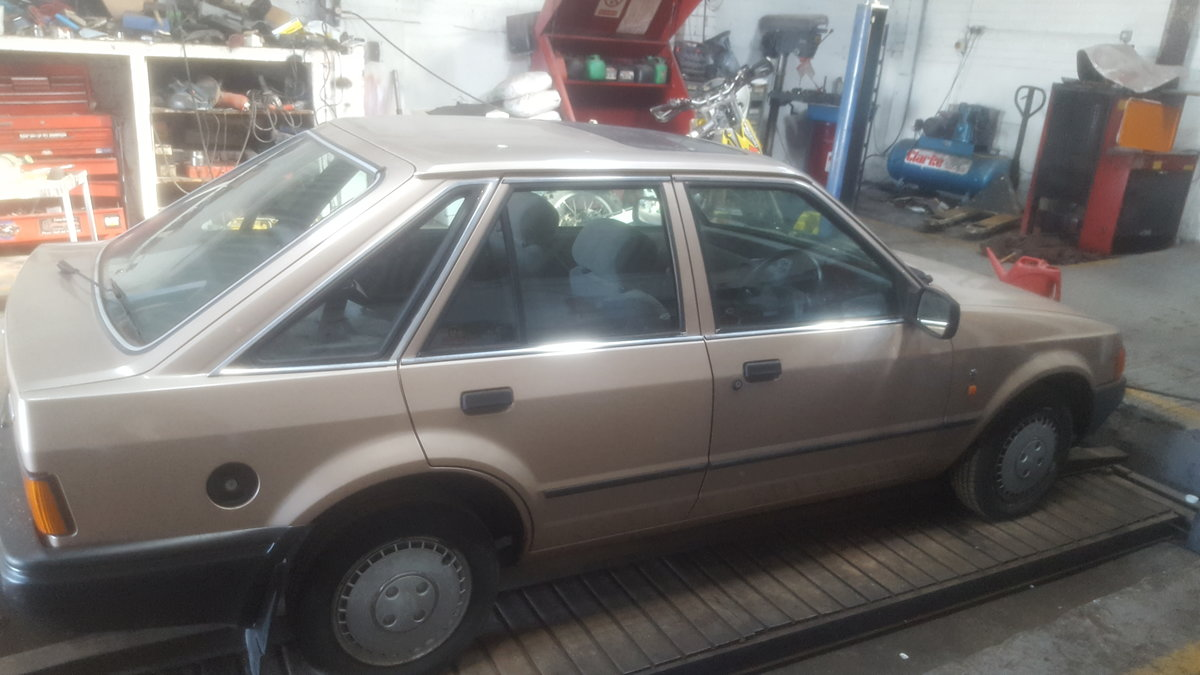 1987 ford escort ghia 1.6 For Sale (picture 3 of 6)