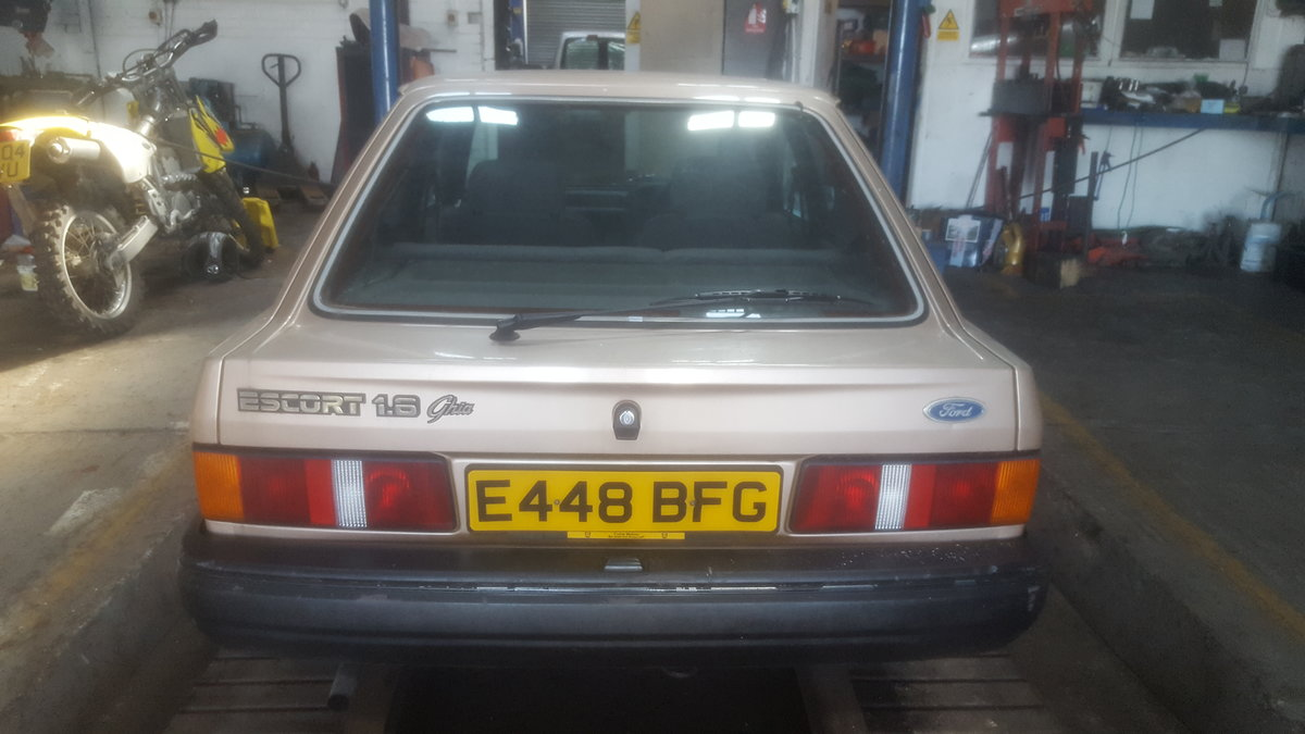 1987 ford escort ghia 1.6 For Sale (picture 4 of 6)