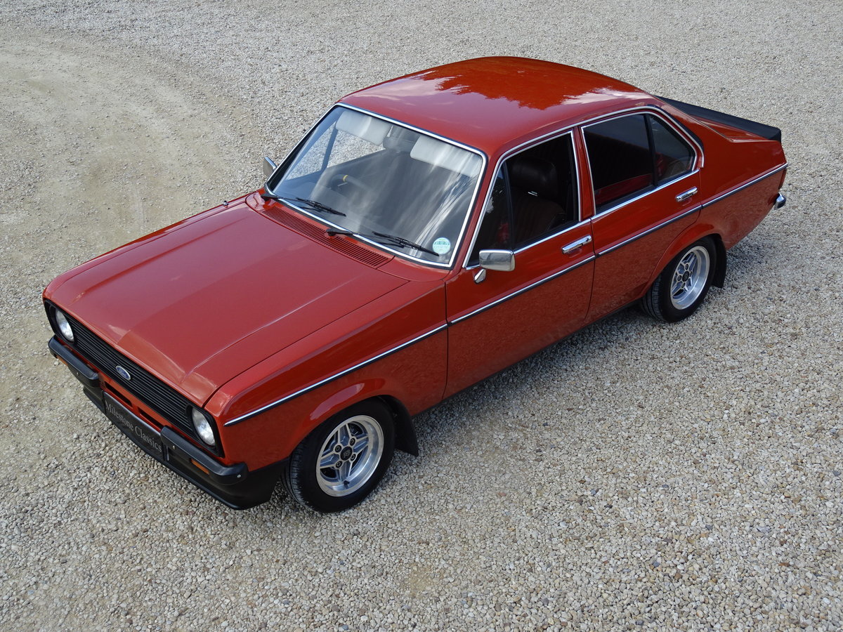 Ford Escort Mk2 – Superb Shell/Pinto Engine/5 Speed SOLD (picture 1 of 6)