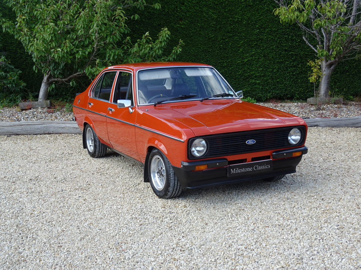 Ford Escort Mk2 – Superb Shell/Pinto Engine/5 Speed SOLD (picture 2 of 6)