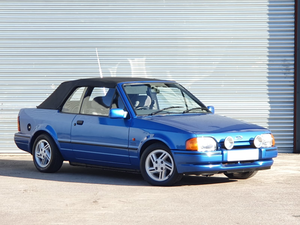 1988 Ford Escort XR3i Cabriolet For Sale by Auction