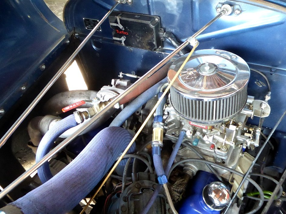 1928 Ford Roadster Rumble(~)Seat Restored Clean Blue driver For Sale (picture 6 of 6)