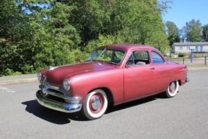 1950 Ford 2 Dr Coupe Flathead 8 rebuilt New brakes $11.5k For Sale (picture 1 of 6)