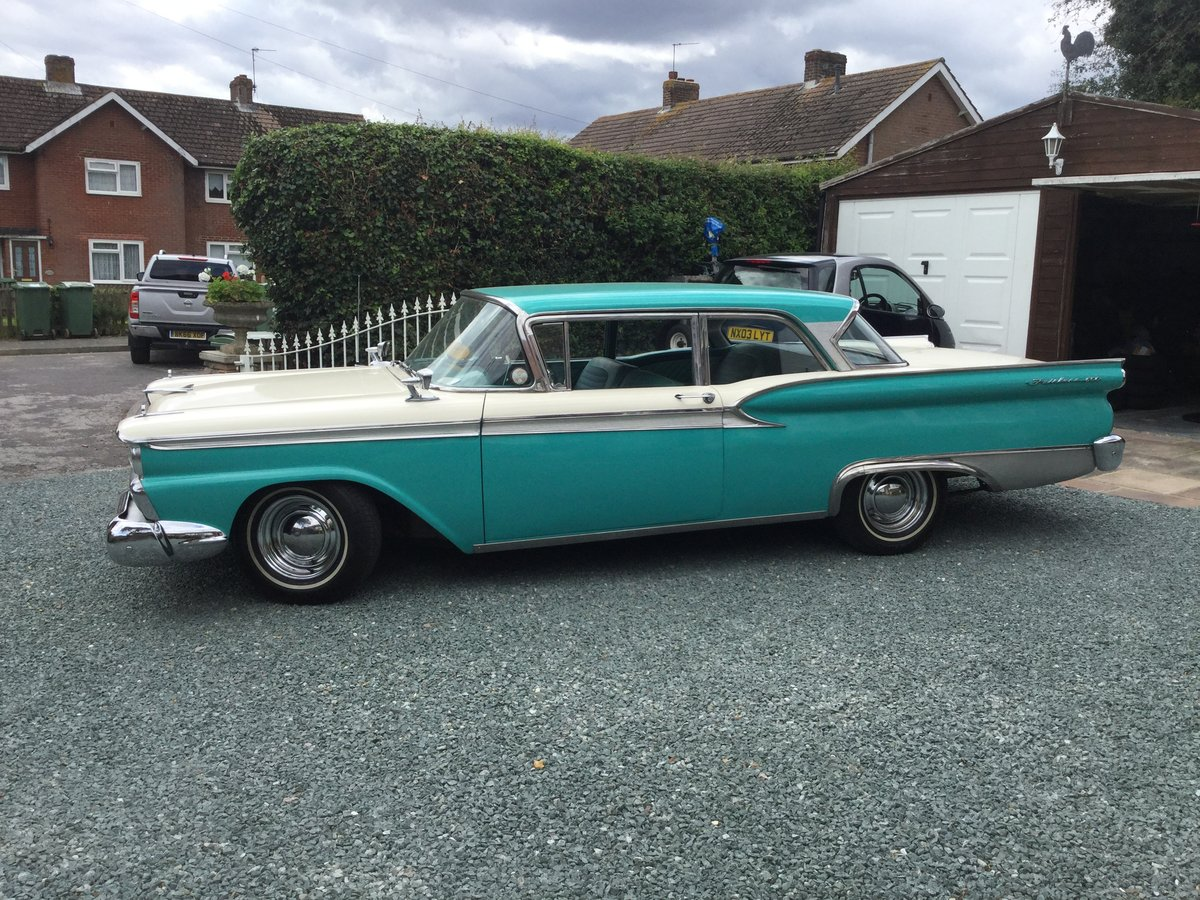 1959 Ford Fairlane Galaxie 500 For Sale (picture 2 of 6)